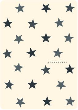 Postkarte – SUPERSTAR, Sterne (KL 20318)