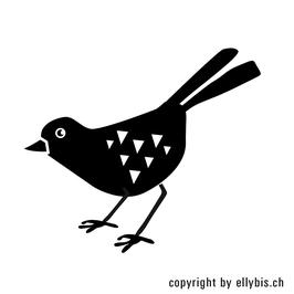 "Stempel ""MIDI"" – Vogel, rechst"