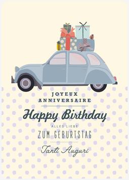 DÖSCHWO 2CV, Happy Birthday (KL 17230)