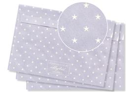 HELLBLAU – Sterne beige