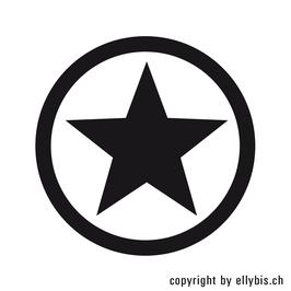 """Stempel """"MIDI"""" (29)  – Stern in Ring"""