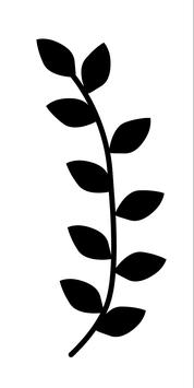 STEMPEL Blätterzweig (S)