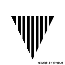 """Stempel """"MIDI"""" (69)  – Flagge Streifen"""