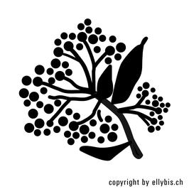 """Stempel """"MIDI"""" – Blütendolde"""
