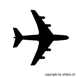 "Stempel ""MIDI""  (22) – Flugzeug"