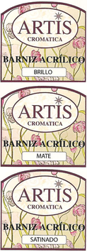 Barniz acrílico Artis 60ml