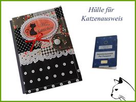 """Katzenausweishülle """"Flower"""""""