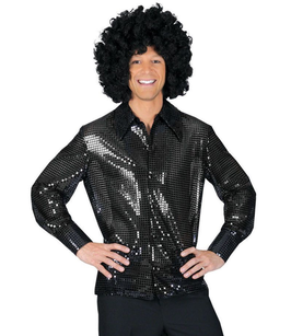 Disco Shirt Zwart