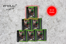 SECHSERPACK (5 + 1 GRATIS) enduu® basic, 6 x 8 Stück
