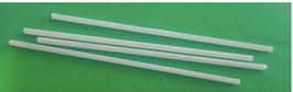 10 Palitos de fibra de vidrio de 6 cm de largo
