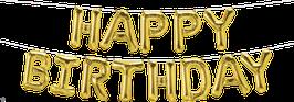16インチHAPPY BIRTHDAY(膨らませ済みタイプ)