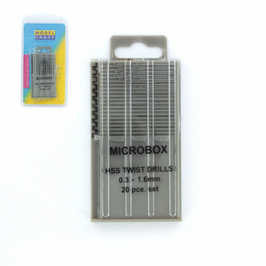 Microbox PUNTE set 0.3 to 1.6mm. COD: PDR4001