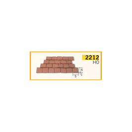 TEGOLA HO ROSSO 300 PEZZI COD: 2212