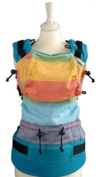 Buzzidil Rainbow / Fullbuckle Grösse Babysize