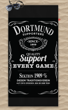Dortmund Jack Strandtuch