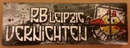 150 RB Leipzig vernichten Aufkleber