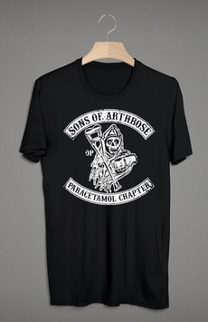 Sons of Arthrose Shirt Schwarz