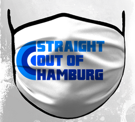 Straight out of Hamburg Maske