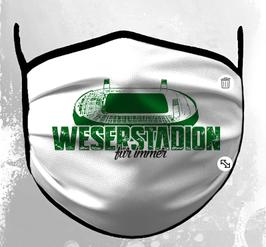 Bremen Weserstadion Maske