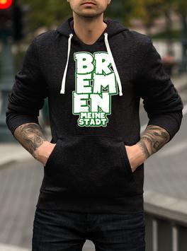 Bremen Graffiti meine Stadt untereinander Hoodie