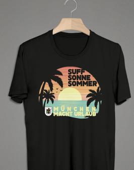 München macht Urlaub Shirt