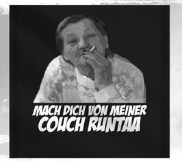 Ritter Couch Runtaa Wandfahne