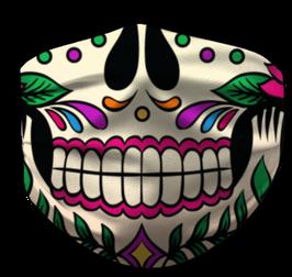 Clown Bunt Maske