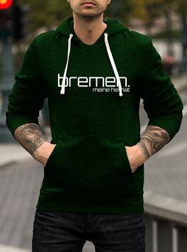 Bremen meine Heimat Hoodie