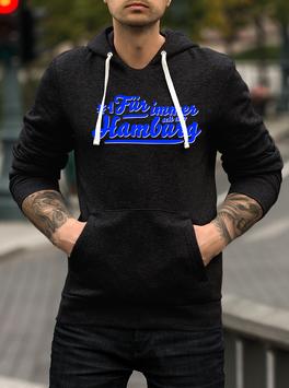 Hamburg für immer Hoodie