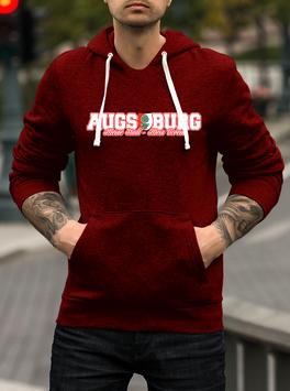 Augsburg Meine Stadt mein Verein Hoodie