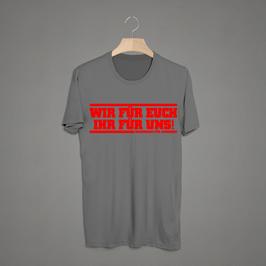 Augsburg wir für euch ihr für uns Shirt