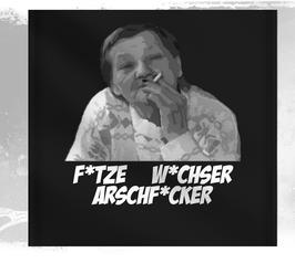 Ritter F*tze W*chser Arschf*cker Wandfahne