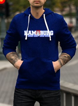 Hamburg meine Stadt mein Verein Hoodie
