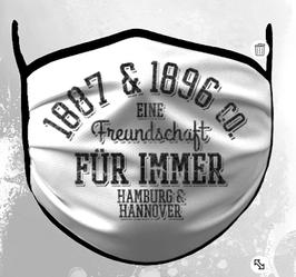 Hamburg Hannover Jahreszahlen Freundschaft Maske