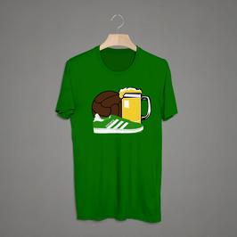 Bremen Bier Ball Schuhe Shirt