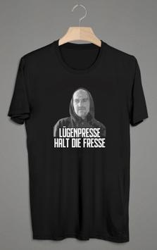 Fam Ritter Lügenpresse halt die Fresse Shirt