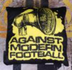 Against Modern Football Kissen