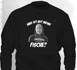 Fam Ritter Was ist mit meine Fische Sweatshirt