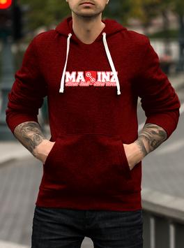 Mainz meine Stadt mein Verein Hoodie