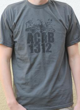 ACAB Shirt Grau