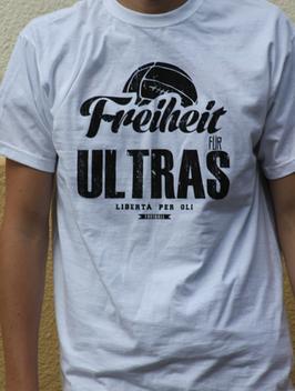Freiheit für Ultras Shirt Weiss