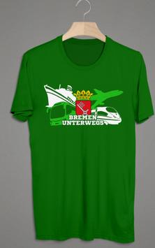 Bremen unterwegs Shirt
