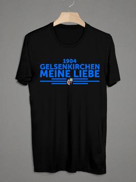 Gelsenkirchen meine Liebe untereinander Shirt Schwarz