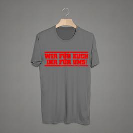 Leverkusen wir für euch ihr für uns Shirt