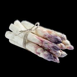 Spargel weiß/violett - Hofsortierung