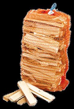 Anmachholz Laub- und Nadelholz trocken in 3,5 kg. Säcken, 200 Säcke