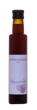 Rotwein Rosmarin Essig