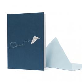 Flieger Herz Blau – GC-HEA1617-PT