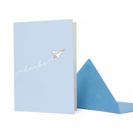 Flieger Danke hellblau – GC-DAN1803-LB