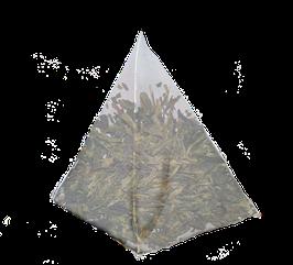 Te Verde Sencha en hoja, cajita de 25 piramides.